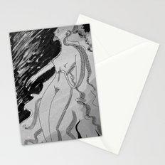 Nótt (B&W) Stationery Cards