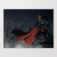 spawn Canvas Prints featuring Spawn by Fuacka