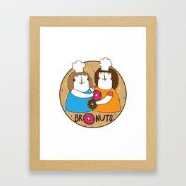 Bronuts Framed Art Print