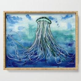Emperor Jellyfish Serving Tray