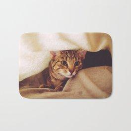 hunting cat Bath Mat