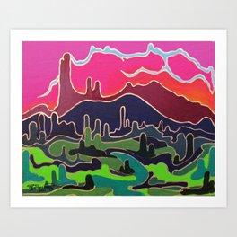 Fan-Flippen-Tastic Art Print