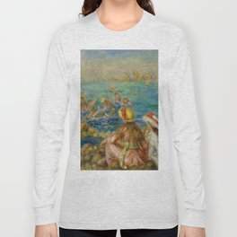"Auguste Renoir ""Baigneuses"" Long Sleeve T-shirt"