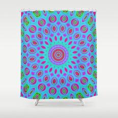 Psychedelic mandala Shower Curtain
