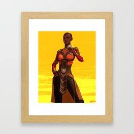 Okoye Framed Art Print