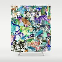 school Shower Curtains featuring School by Nancy Smith