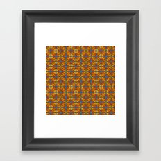 Shanghai Screen Pattern Framed Art Print