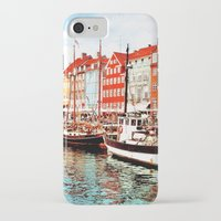 denmark iPhone & iPod Cases featuring Copenhagen, Denmark by Philippe Gerber