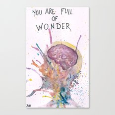 You Are Full of Wonder Canvas Print