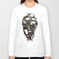 life aquatic Long Sleeve T-shirts featuring Aquatic by Emma Lettera