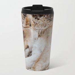 Sleeping Lioness Travel Mug