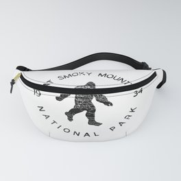 Great Smoky Mountains National Park Sasquatch Fanny Pack