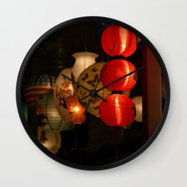 Illumination Nights Wall Clock