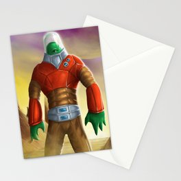 Alien Astronaut Stationery Cards