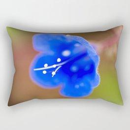 Desert Bluebell Rectangular Pillow