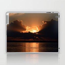 Fisherman Sunset Laptop & iPad Skin
