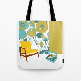 The yellow chair Tote Bag