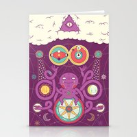 cosmos Stationery Cards featuring Cosmos by Martin Orza