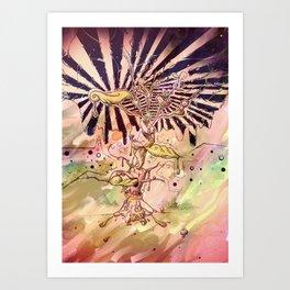 Magic Beans (Alternate colors version) Art Print