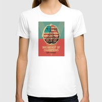 vonnegut T-shirts featuring Breakfast of Champions by Troy DeRose