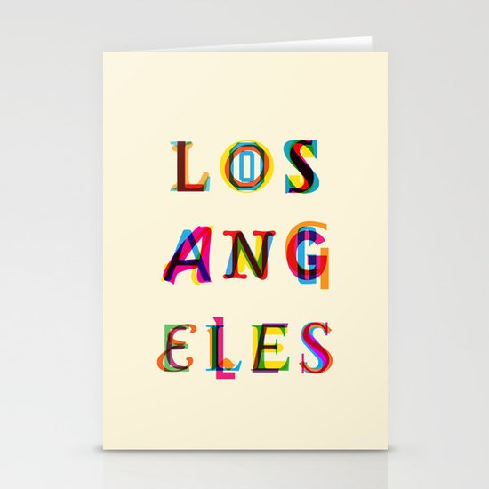 Los Angeles Stationery Cards