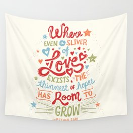 Sliver of Love Wall Tapestry