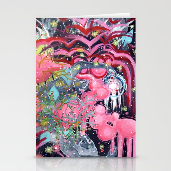 Air Bubbles Stationery Cards