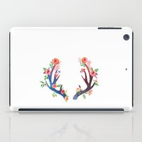 antler iPad Cases featuring Roses and Antler by Better HOME