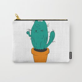 Cactus Cat Carry-All Pouch