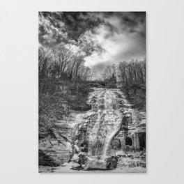 finger lakes falls Canvas Print