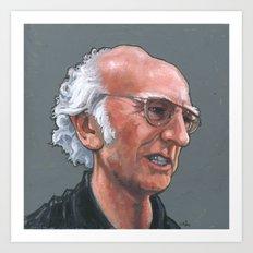 Larry David Art Print