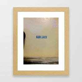 Kum Back Framed Art Print