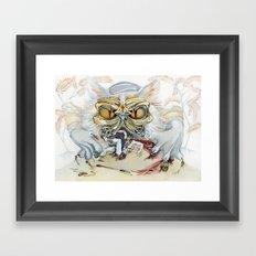 Persian Immortal Cat Framed Art Print