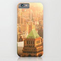 New York City Skyline Rooftops Slim Case iPhone 6s