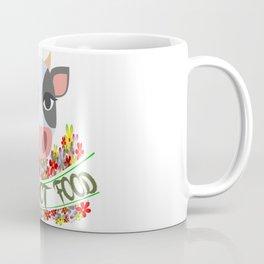 COW, FRIENDS NOT FOOD Coffee Mug