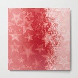 Scarlet Starshine Metal Print