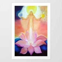 Goddess Sophia Art Print