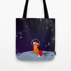 Where to next, little Fox? Tote Bag