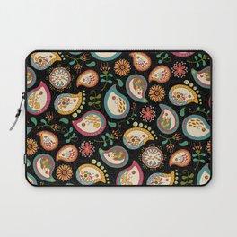Hedgehog Paisley - Party Colors Laptop Sleeve