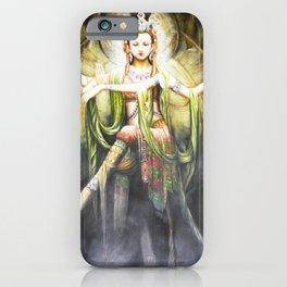 Hindu Durga 2 iPhone Case