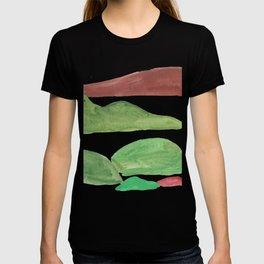 4      Mountain Watercolour Painting    190402 T-shirt