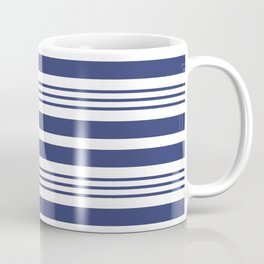 Sailor Blue Stripes 42 Coffee Mug
