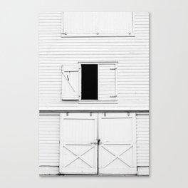 Barn Door Basics Canvas Print