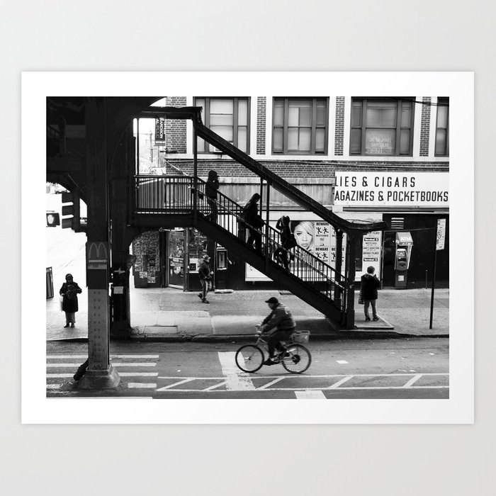 Astoria Art Print