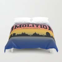sports Duvet Covers featuring DMolition Sports by DMolition