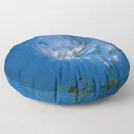 Sun Swirl Floor Pillow