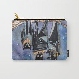 Bat Fam Carry-All Pouch