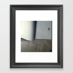 The Last Page Framed Art Print