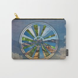 Bike Mandala Carry-All Pouch