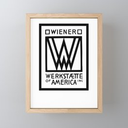 Wiener Werkstaette of America Framed Mini Art Print